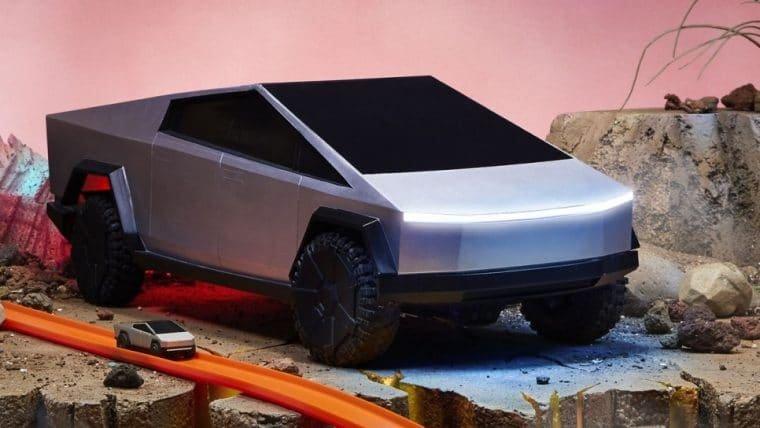 Tesla Cybertruck ganha versão de controle remoto da Hot Wheels