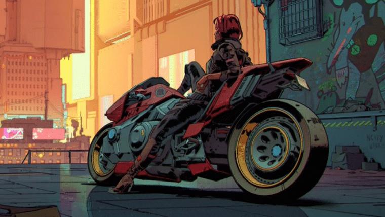 Cyberpunk 2077 ganha papel de parede com referência a Akira