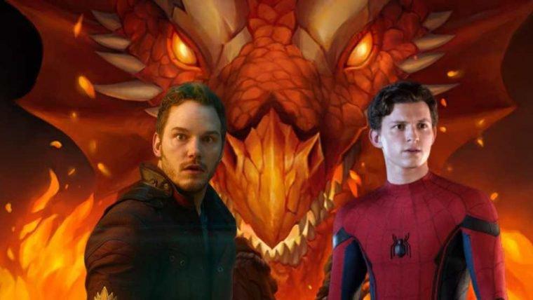 Tom Holland e Chris Pratt querem jogar Dungeons & Dragons com o elenco de Vingadores
