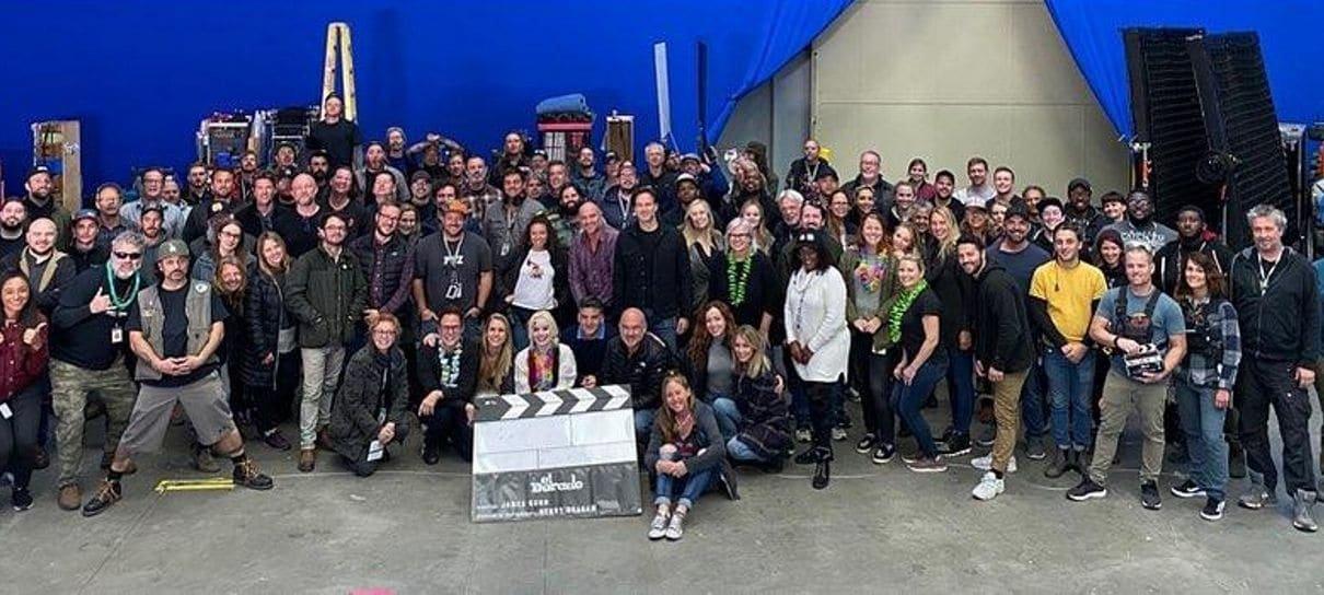 James Gunn celebra o fim das filmagens do novo Esquadrão Suicida