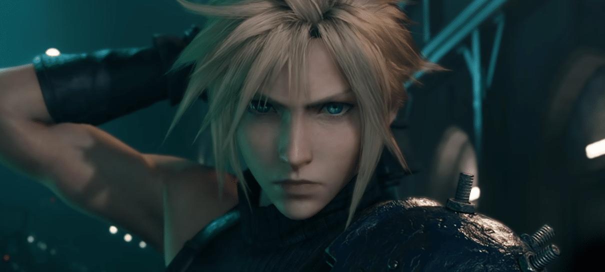 Final Fantasy VII remake tem animação de abertura revelada