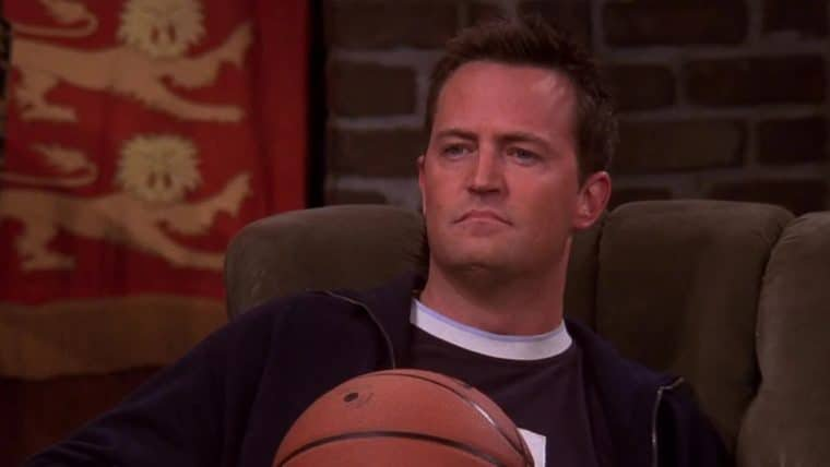 Matthew Perry, o Chandler de Friends, avisa: