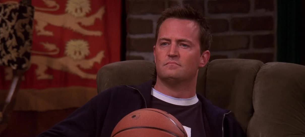 Matthew Perry, o Chandler de Friends, avisa: