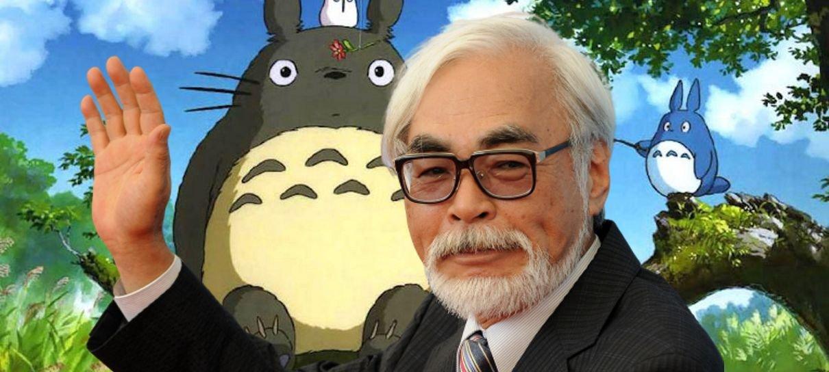 Assista ao documentário sobre o processo criativo de Hayao Miyazaki