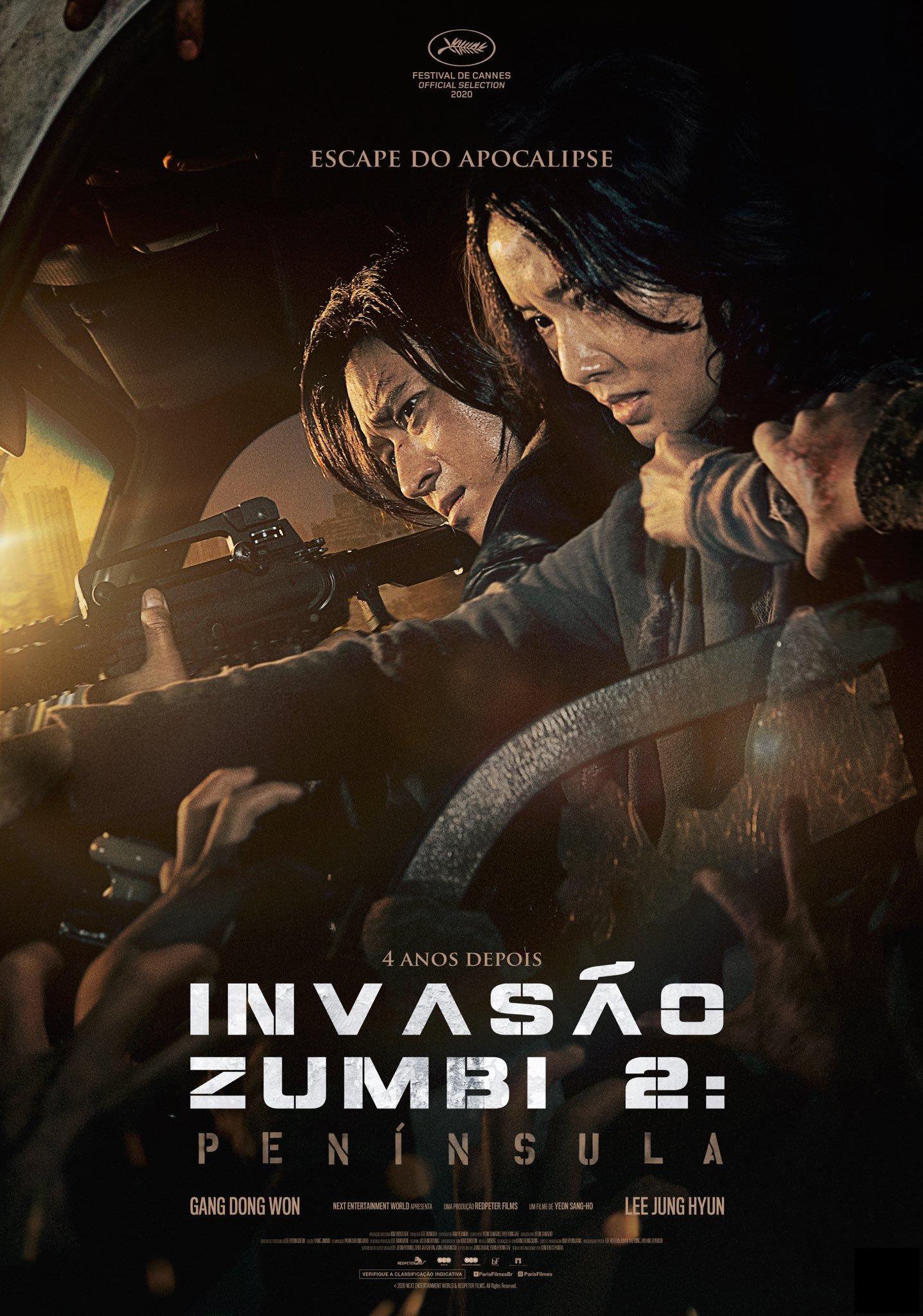 Invasão Zumbi 2: Península ganha dois novos pôsteres - NerdBunker
