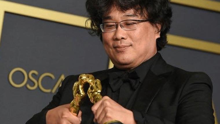 Bong Joon-ho tem as melhores reações ao ganhar Oscars por Parasita