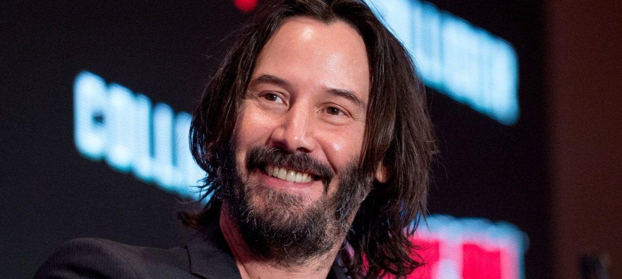 Matrix 4   Keanu Reeves aparece diferente nas gravações