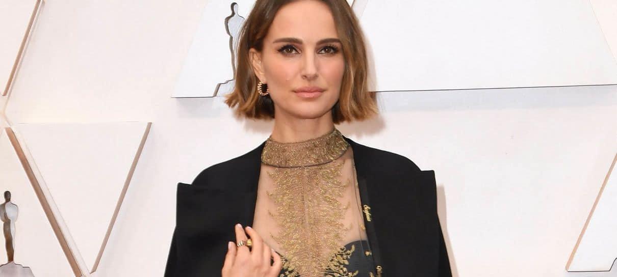 Natalie Portman carregou o nome das diretoras que não foram indicadas ao Oscar 2020