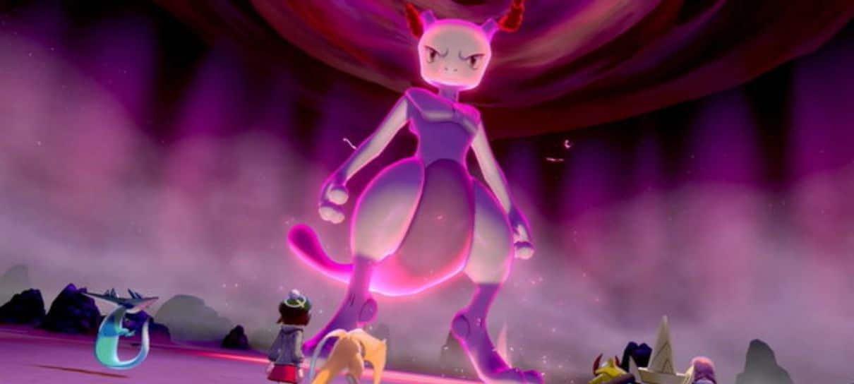Pokémon | Raid de Mewtwo em Sword & Shield pode ser a batalha mais difícil da franquia