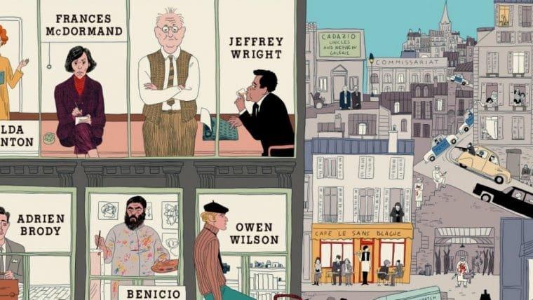 The French Dispatch, novo filme de Wes Anderson, ganha pôster
