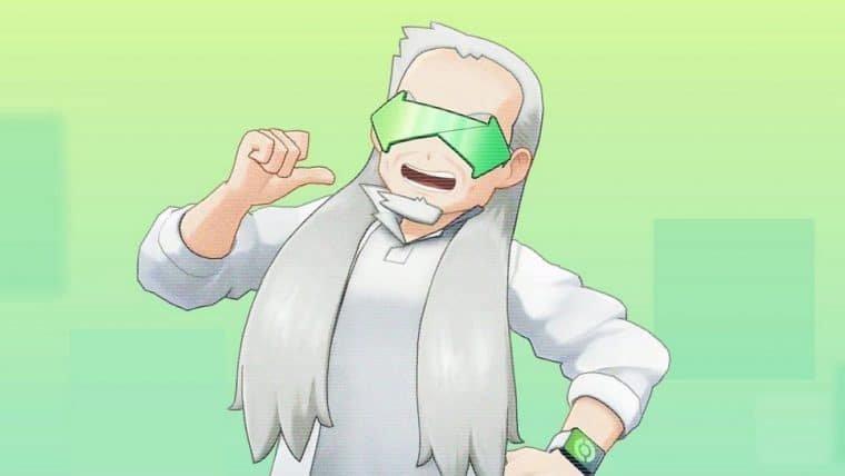 Pokémon Home | A internet surtou com o novo parente do Professor Carvalho