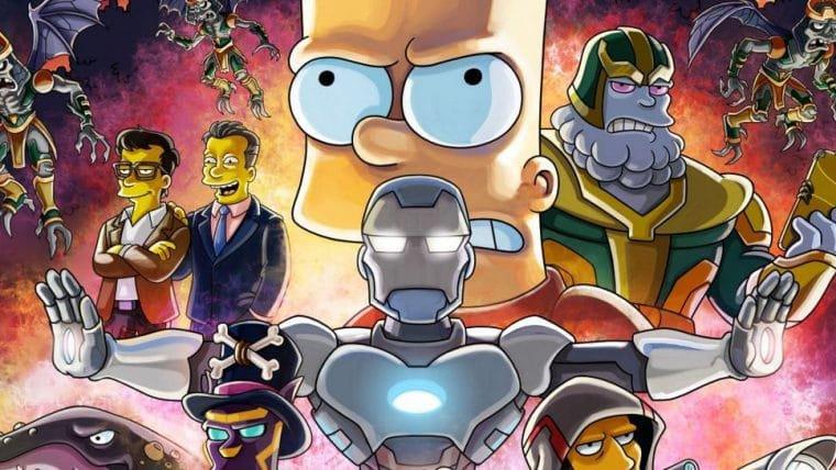 Os Simpsons | Confira o pôster do episódio inspirado em Vingadores
