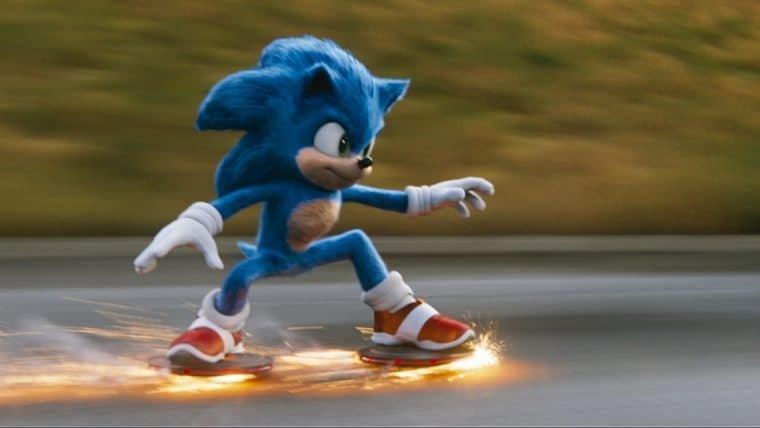 Bob Esponja faz zoeira com visual do Sonic