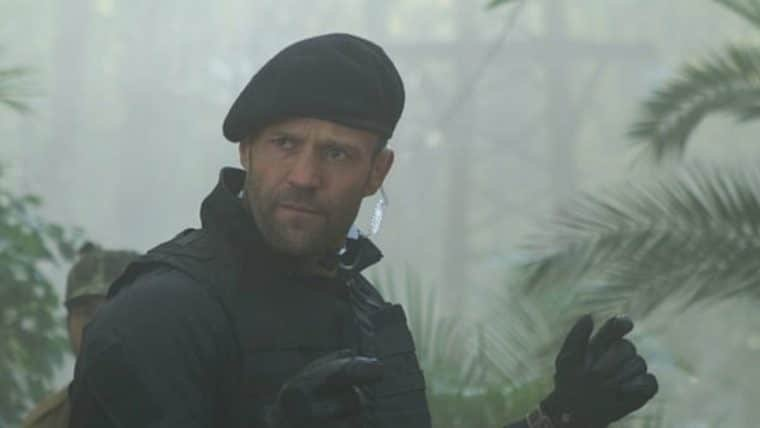 Os Mercenários terá spin-off focado no personagem de Jason Statham