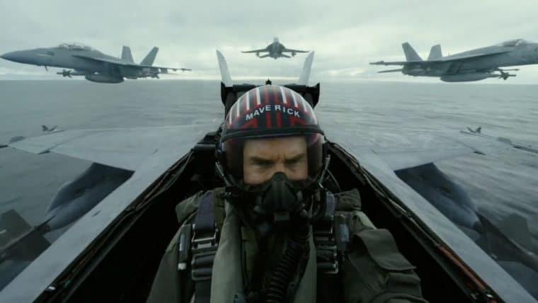 Tom Cruise mostra ação de tirar o fôlego em teaser de Top Gun: Maverick