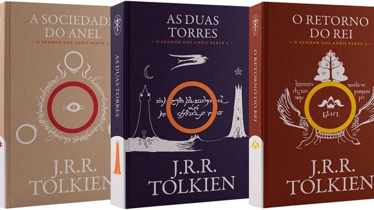 Trilogia O Senhor dos Anéis em edição exclusiva na NerdStore!