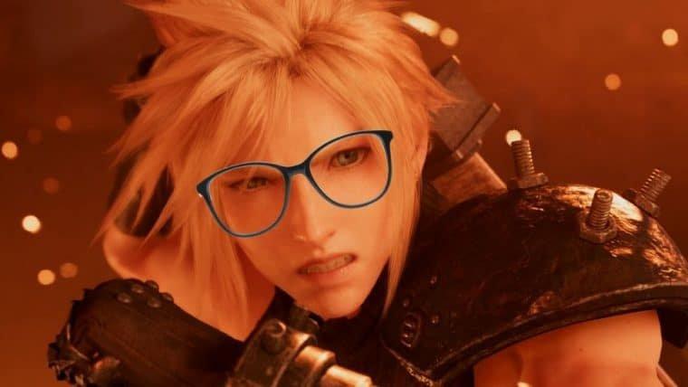 Final Fantasy VII Remake ganha óculos oficial e limites foram ultrapassados