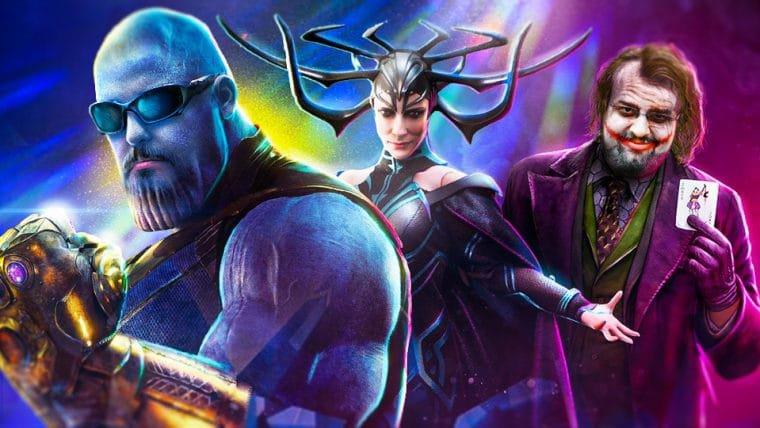 Top 10 Super Vilões ( No universo cinematográfico dos quadrinhos )