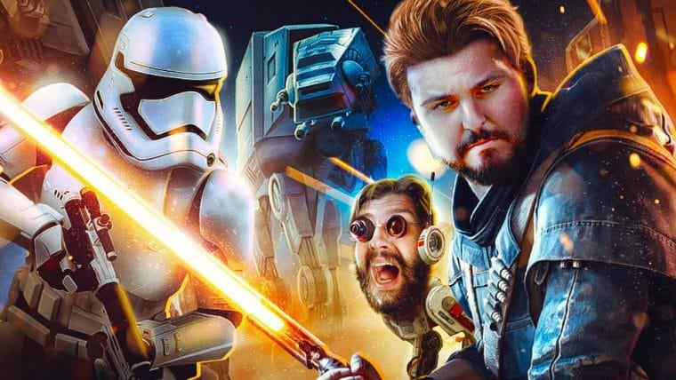 Star Wars Jedi Fallen Order - Quero meu Wookiee!!
