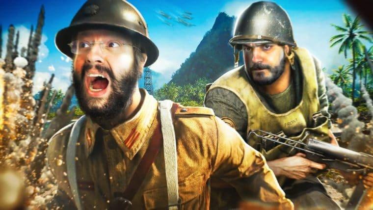 Battlefield V - Noobs no Pacífico!