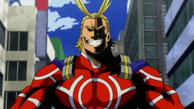 Ilustrador de Venom publica fanart do All Might, de My Hero Academia