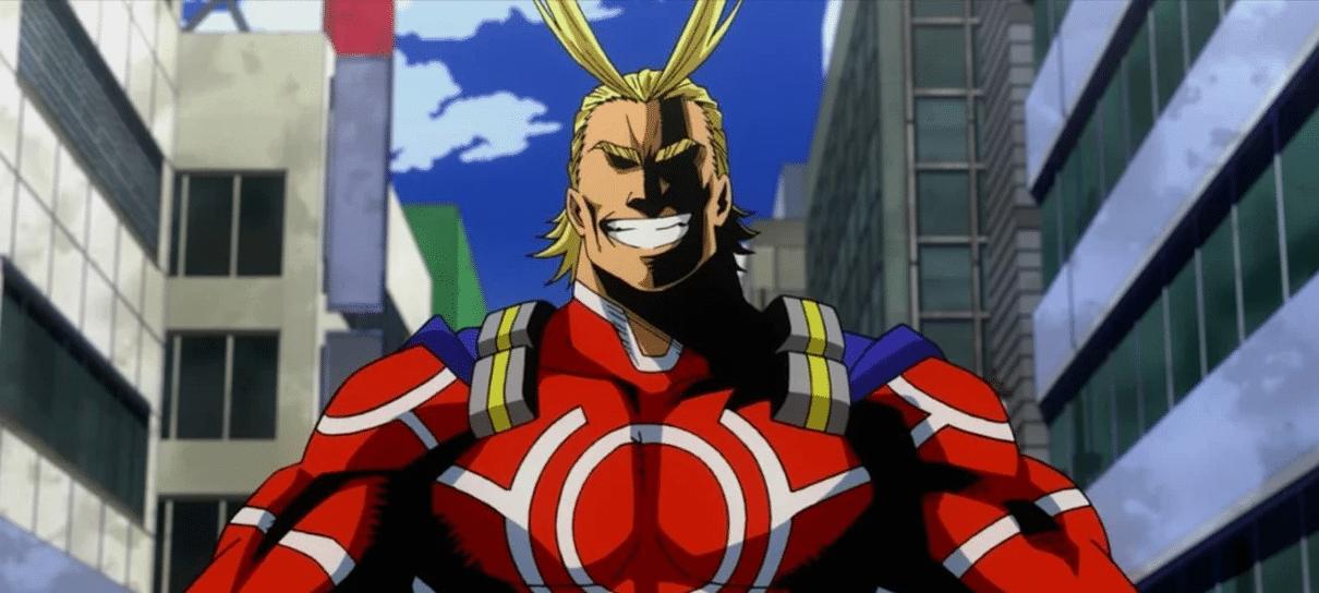 Ilustrador de Venom publica fanart do All Might, de My Hero Academia