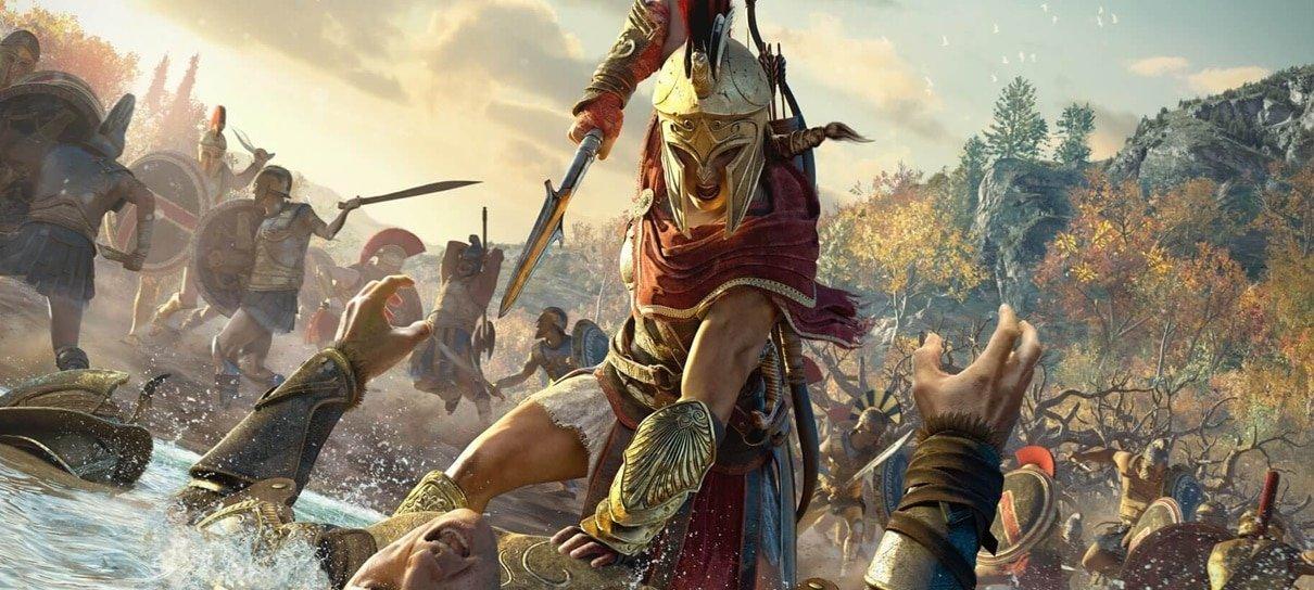 Assassin's Creed Odyssey estará gratuito no final de semana
