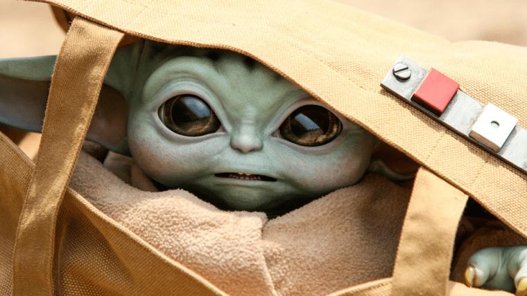 Esse Baby Yoda em tamanho real pode ser seu por uma pequena fortuna
