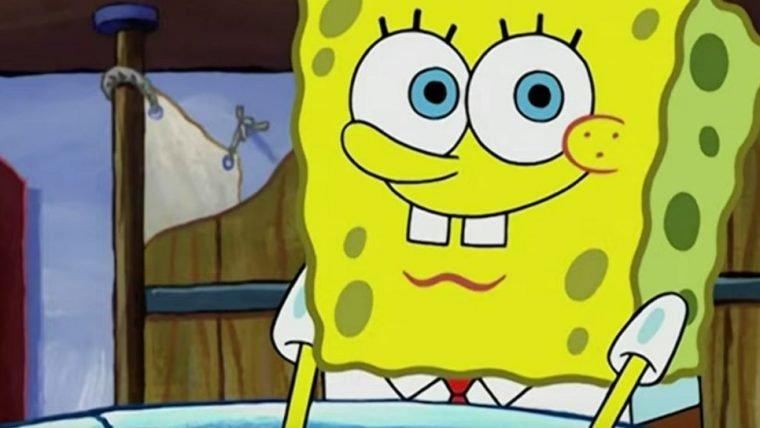 Bob Esponja entra na campanha da Nickelodeon contra o coronavírus