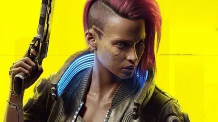 Capa reversível de Cyberpunk 2077 com a versão feminina de V é revelada