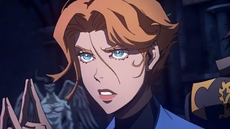Castlevania   Diretor da 3ª temporada revela esboço das animações de cena de luta