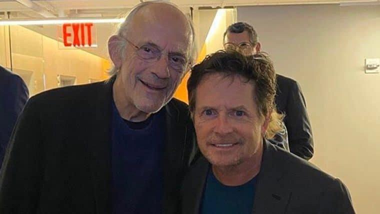 De Volta Para o Futuro | Michael J. Fox e Christopher Lloyd se reúnem em foto
