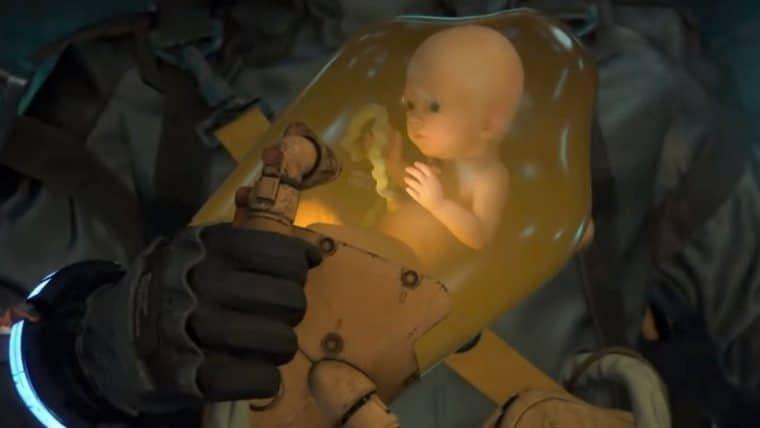 Death Stranding | Pai cria uma incubadora do BB para o próprio filho