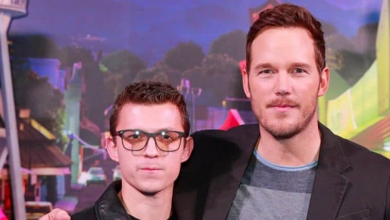 Dois Irmãos: Uma Jornada Fantástica | Chris Pratt elogia Tom Holland em publicação fofa