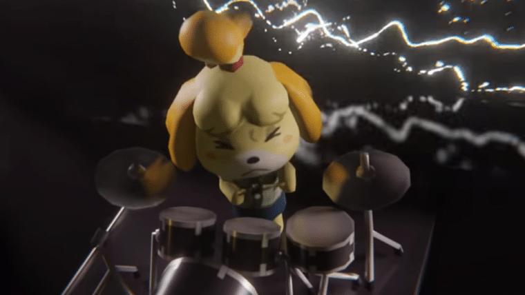 Banda de Animal Crossing toca música de Doom em vídeo feito por fã