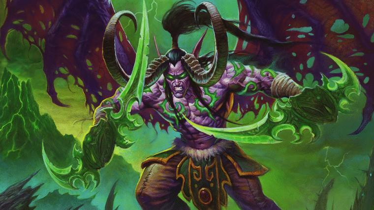 Hearthstone recebe Illidan como novo herói em Cinzas de Terralém, expansão do Ano da Fênix