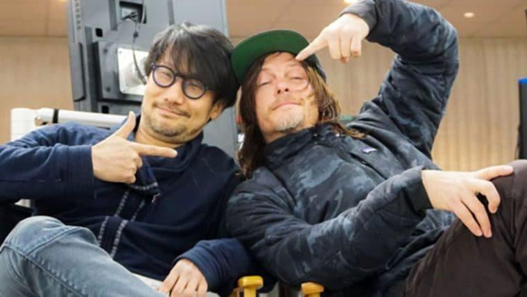 Hideo Kojima já está conversando com Norman Reedus sobre seu próximo projeto