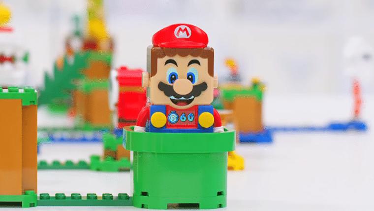 Conjuntos de LEGO Super Mario têm funções ativadas por Bluetooth