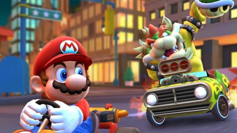 Mario Kart Tour ganhará modo multiplayer ainda este mês