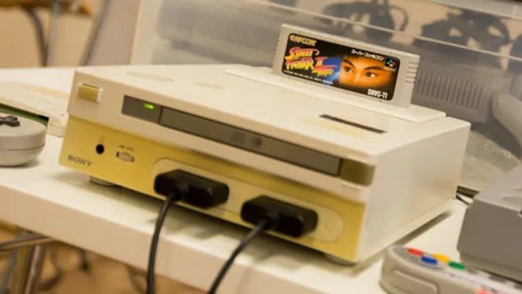Protótipo original do Nintendo PlayStation leiloado será exposto em museu no futuro