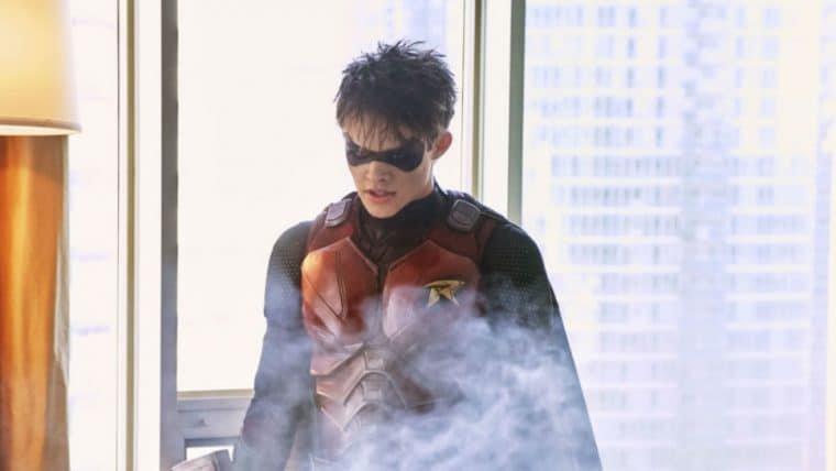 Titãs | Imagem traz Batman e Robin juntos em cena deletada