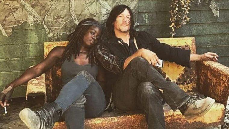 The Walking Dead | Equipe se despede de Danai Gurira; veja fotos