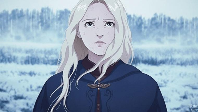 The Witcher | Artista portuguesa recria cenas em estilo anime