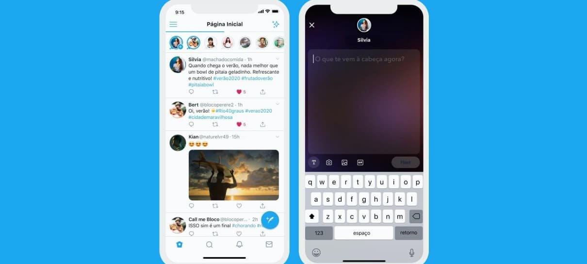 Twitter anuncia Fleets, novo recurso da rede social que funciona como stories