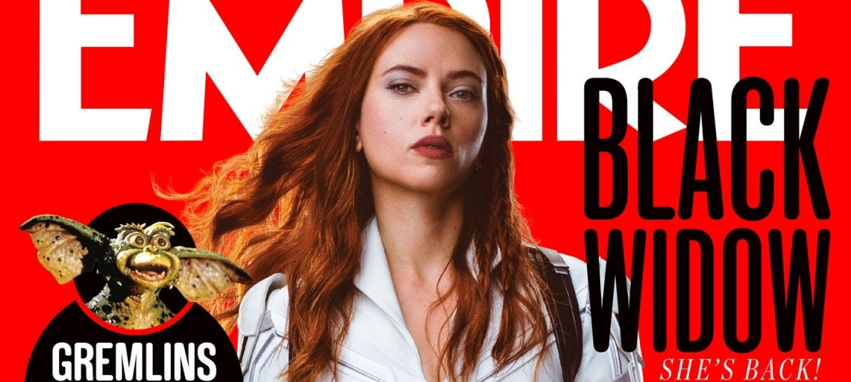 Viúva Negra estampa a capa da revista Empire