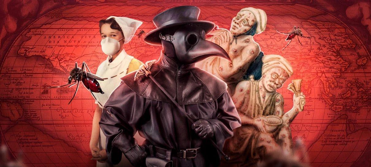 Pandemias pela história