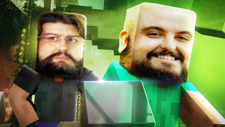 Minecraft RTX - Construindo um Nerdbunker