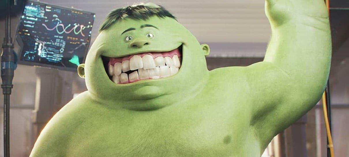 E se Hulk fosse um personagem da Pixar?
