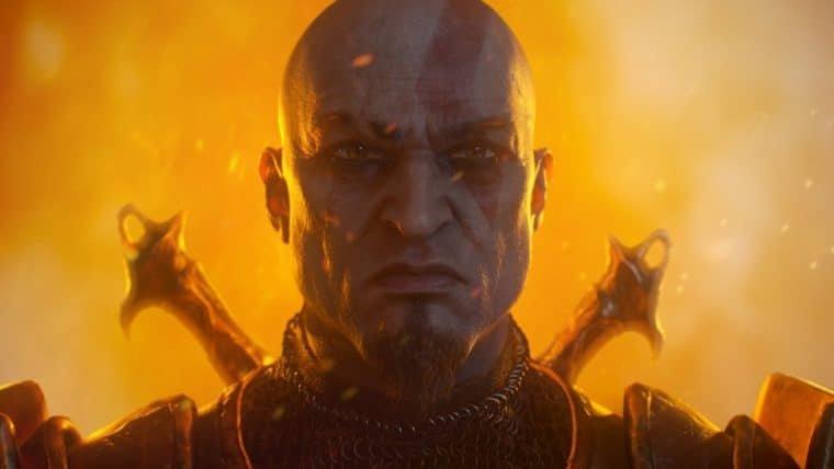 Artista imagina como seria o visual de Kratos em um remake de God of War II