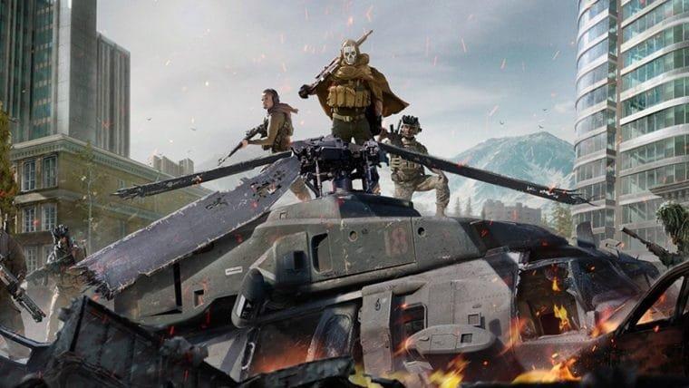Call of Duty: Warzone bane 50 mil contas por trapaças